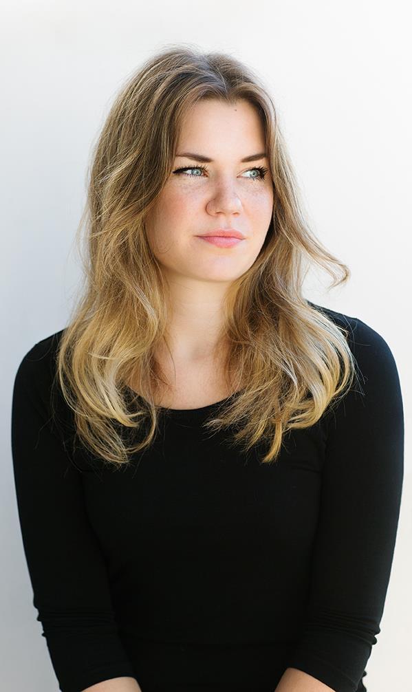 Porträtt på digital marknadsförare Sarah Norén
