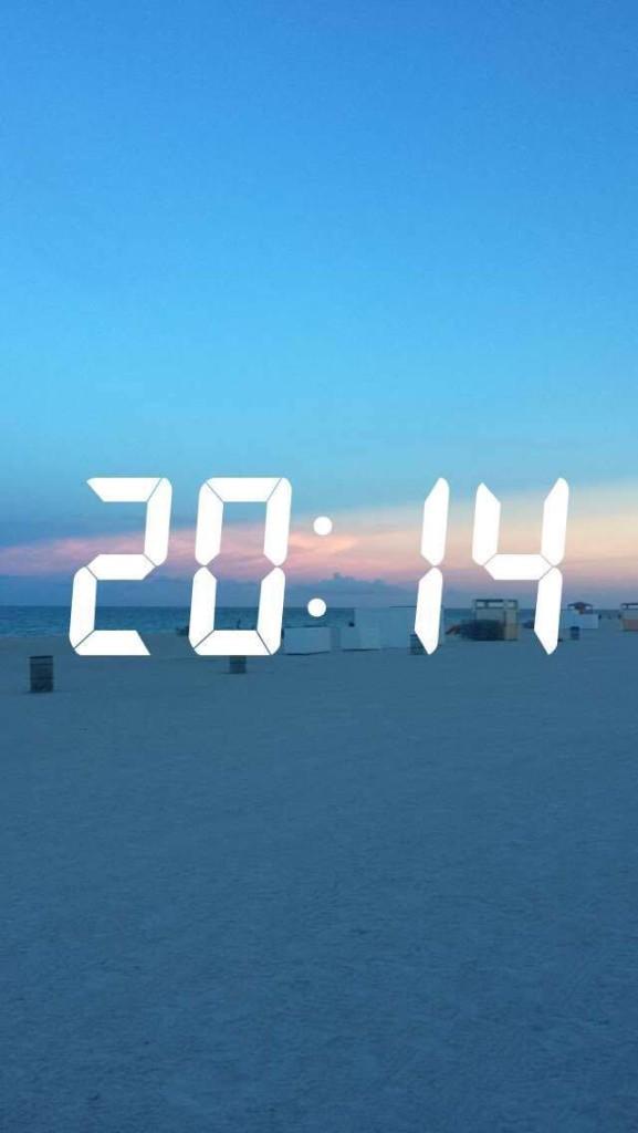 Solnedgang Miami Beach